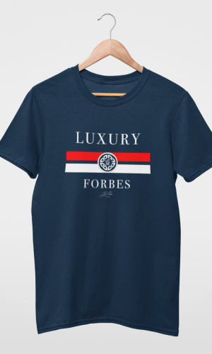 Mens Luxury Shield T-Shirt by Luxury Forbes