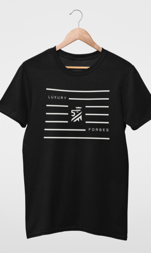 Mens Lined in Luxury T-Shirt by Luxury Forbes