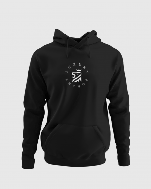 Heart of Luxury Hoodie Black