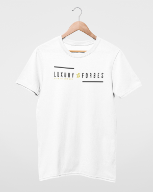 Mens A touch of Luxury T-shirt by Luxury Forbes