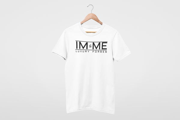 I'm Me White Mens T-Shirt