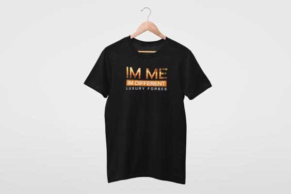 Im Me I'm Different Orange Mens T-Shirt