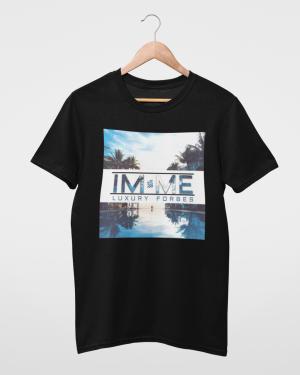I'm Me From Poolside Black Mens T-Shirt