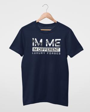 I'm Me I'm Different Navy Mens T-Shirt