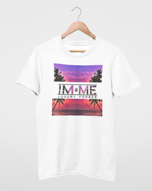 I'm Me From The Beach White Mens T-Shirt