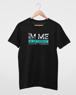 I'm Me I'm Different Turquoise Mens T-Shirt
