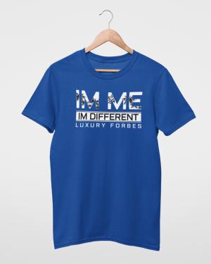 I'm Me I'm Different Blue Mens T-Shirt