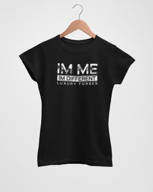 Im Me Im Different Black Women's T-Shirt
