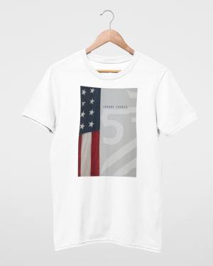 American Royalty Men's White T-Shirt