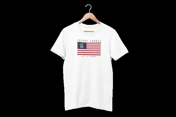American Luxury Men's White T-Shirt
