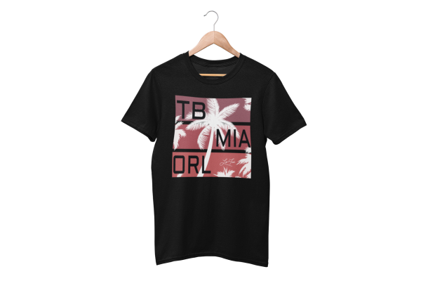 Mens FL Where Memories Are Made Black T-Shirt