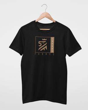 Symbol of Luxury Kids Black T-Shirt