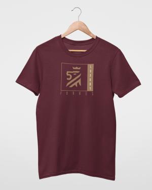 Symbol of Luxury Kids Maroon T-Shirt