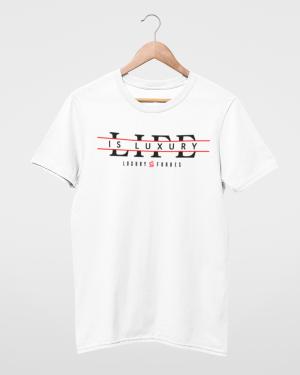 My life is Luxury Mens White T-Shirt
