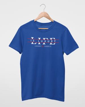 My life is Luxury Mens Blue T-Shirt